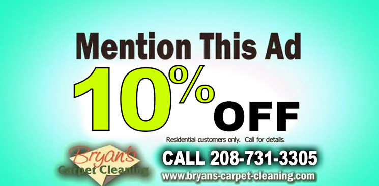 Coupon Carpet Cleaning Twin Falls Idaho